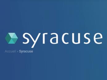Capture d'écran Syracuse