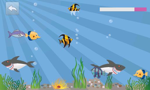 Capture d'écran Le monde de la mer