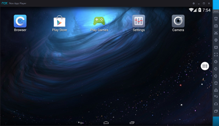 Capture d'écran Nox App Player Mac