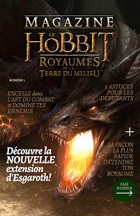 Capture d'écran Magazine – Le Hobbit: Royaumes