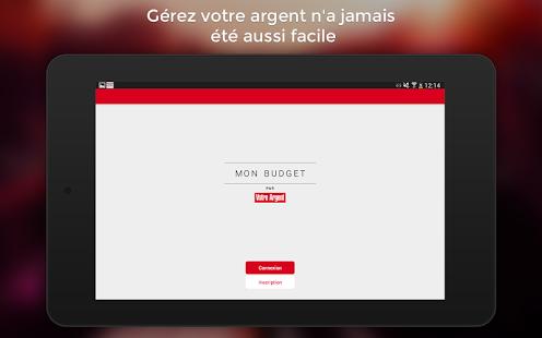 Capture d'écran Mon Budget par Votre Argent
