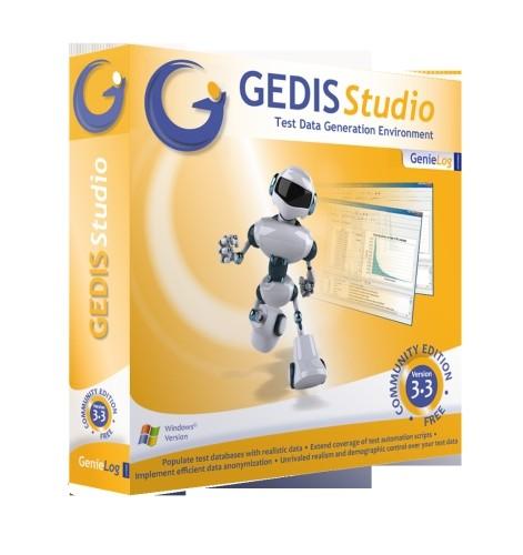 Capture d'écran GEDIS Studio