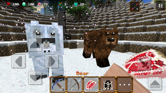 Capture d'écran Winter Craft 3: Mine Build