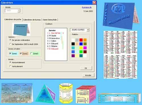 Capture d'écran Calendxl