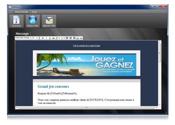 Capture d'écran i-Mailing
