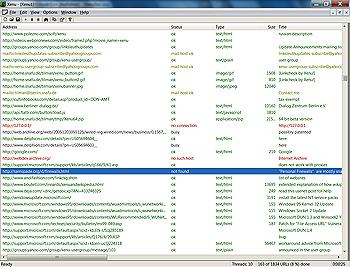 Capture d'écran Xenu's Link Sleuth