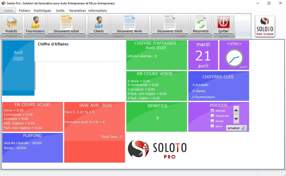 Capture d'écran Soloto Pro