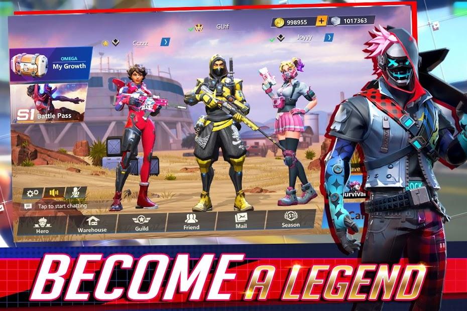 Capture d'écran Omega Legends Android