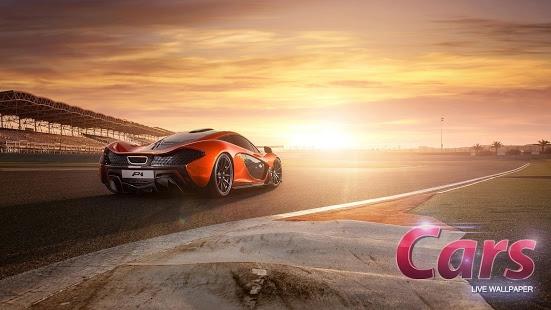 Capture d'écran Les voitures Fond Animé