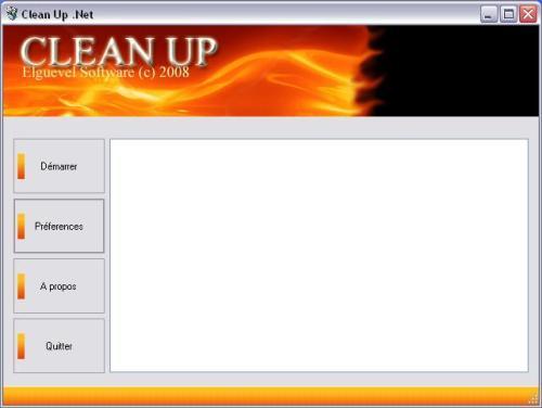 Capture d'écran Clean Up