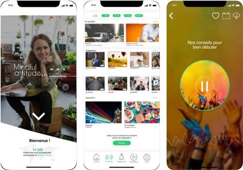 Capture d'écran Mindful Attitude : Méditation gratuite et guidée Android