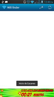Capture d'écran Wifi password recovery