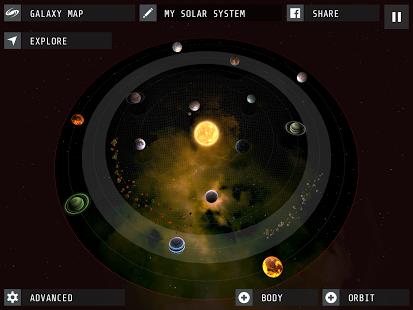 Capture d'écran Interstellar Android