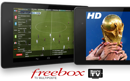 Capture d'écran Box'n TV iOS