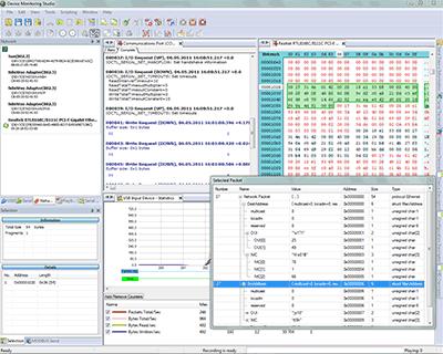 Capture d'écran Device Monitoring Studio