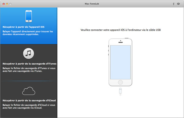 Capture d'écran Aiseesoft Mac FoneLab