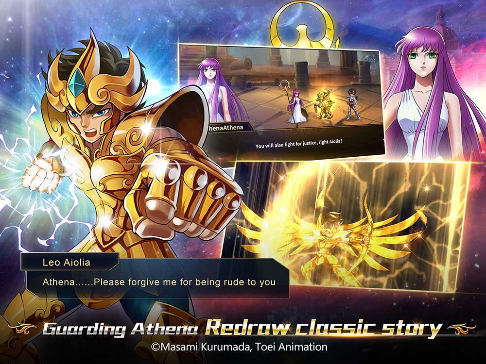 Capture d'écran Saint Seiya Galaxy Spirits Android