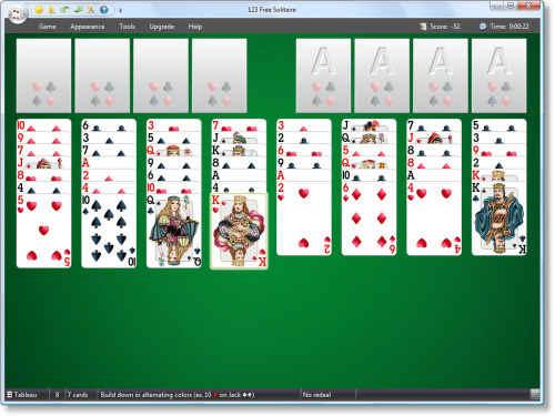 Capture d'écran 123 Free Solitaire – Card Games Suite