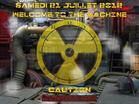 Capture d'écran Hazardous Area : Welcome To The Machine