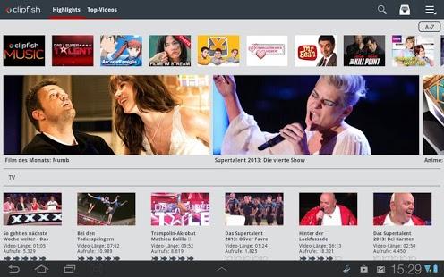 Capture d'écran Clipfish: TV, Filme