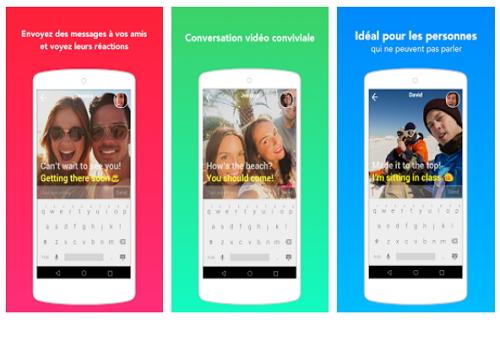 Capture d'écran Yahoo LiveText Android