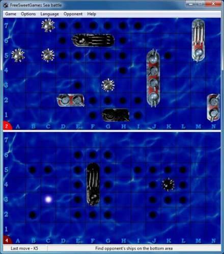 Capture d'écran FreeSweetGames Sea Battle