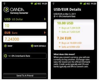 Capture d'écran Convertisseur de devises iOS