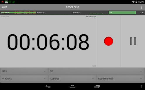 Capture d'écran All That Recorder Lite