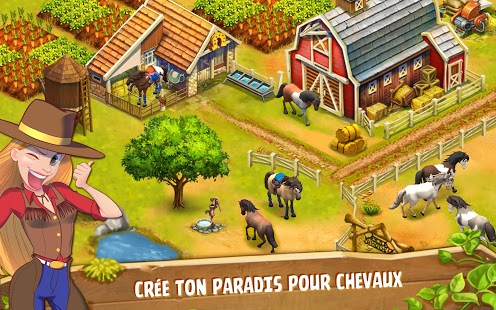 Capture d'écran Horse Haven World Adventures
