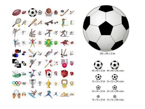 Capture d'écran Sport Icons