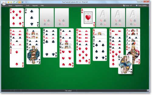 Capture d'écran Free FreeCell Solitaire