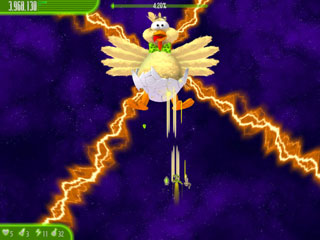 Capture d'écran Chicken Invaders 4 Easter