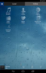Capture d'écran Lecteur de Musique