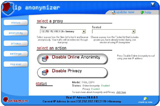 Capture d'écran IP Anonymizer