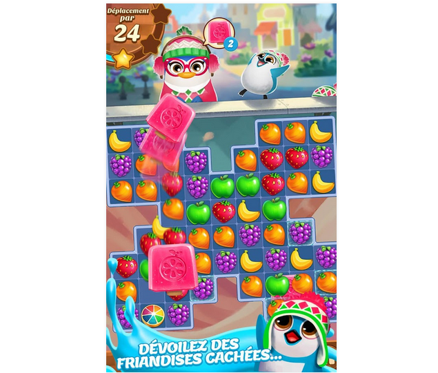 Capture d'écran Juice Jam iOS