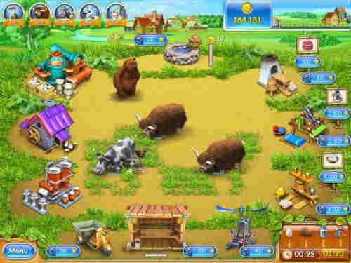 Capture d'écran Farm Frenzy 3