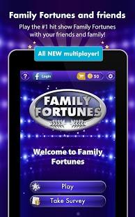 Capture d'écran Family Fortunes