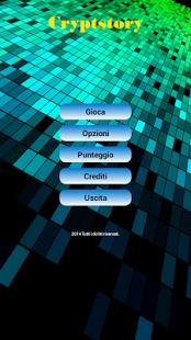 Capture d'écran Cryptstory IT