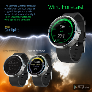 Capture d'écran Krona Sunlight Watchface
