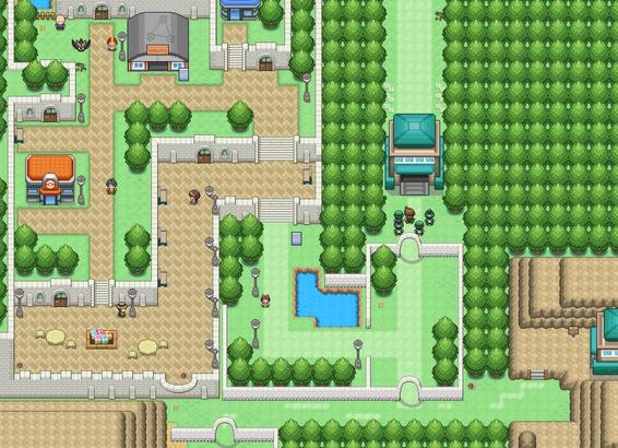 Capture d'écran Pokemon Uranium