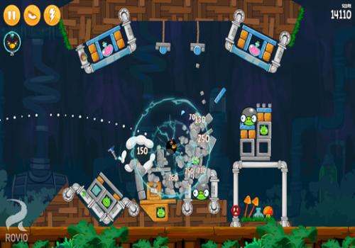 Capture d'écran Angry Birds iOS