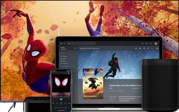 Capture d'écran Plex