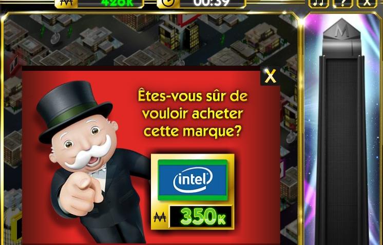 Capture d'écran Monopoly Empire