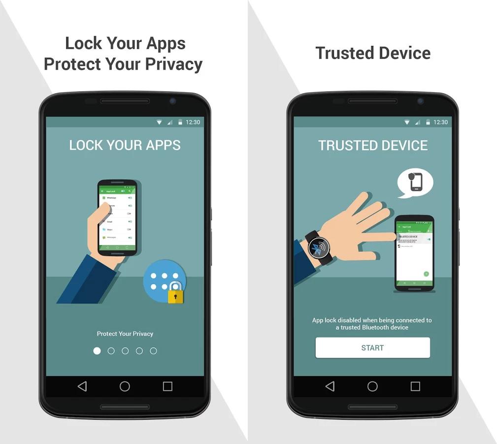 Capture d'écran Comodo App Lock Android