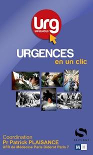 Capture d'écran Urgences1Clic