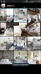 Capture d'écran Bedroom Ideas