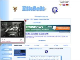 Capture d'écran ElkPortNT