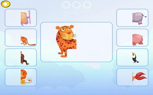 Capture d'écran Jeu pour les petits animaux