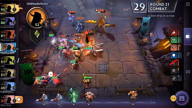 Capture d'écran Dota Underlords Android