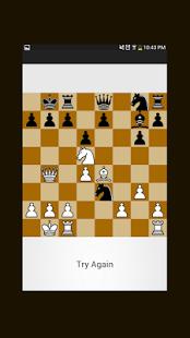 Capture d'écran Grandmaster Chess Puzzles